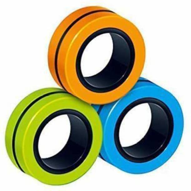 sachani creation premium ANTI STRESS FINGER SPINNER magnetic ring to DEPRESSION RELIEF & MOOD CHANGER & HARMLESS activity toy gadgets
