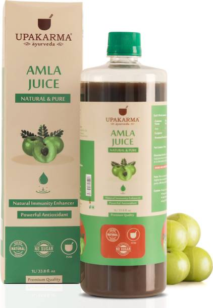 UPAKARMA Amla Juice Natural Juice for Building Immunity and Digestion Booster I No Added Sugar