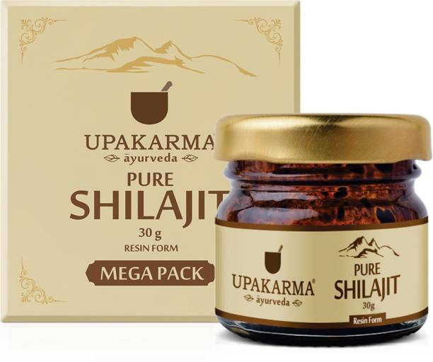 UPAKARMA Natural & Pure Resin Raw Shilajit