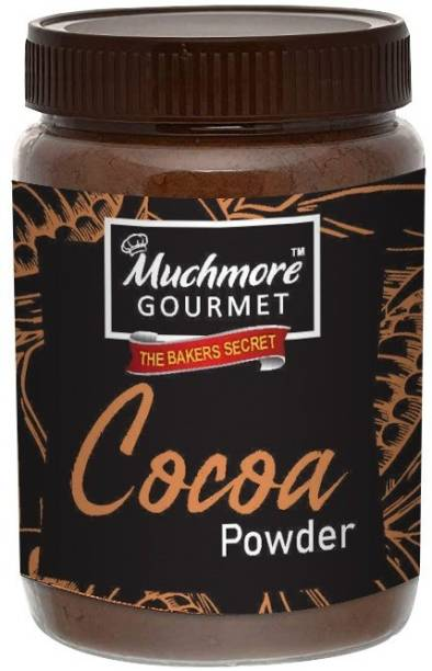 Muchmore |Cocoa Powder|Cake|Unsweetened|Baking|for Chocolate|Raw|Organic|No Sugar|Easy Store Pack| Cocoa Powder