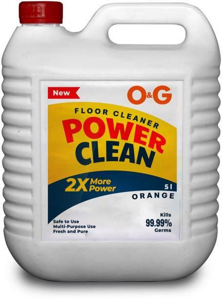 O&G Disinfectant Floor Cleaner Orange Orange