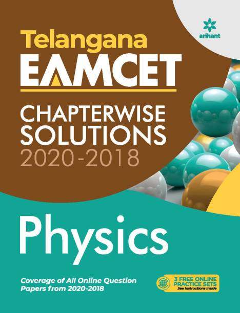 Telangana Eamcet Chapterwise Solutions 2020-2018 Physics for 2021 Exam