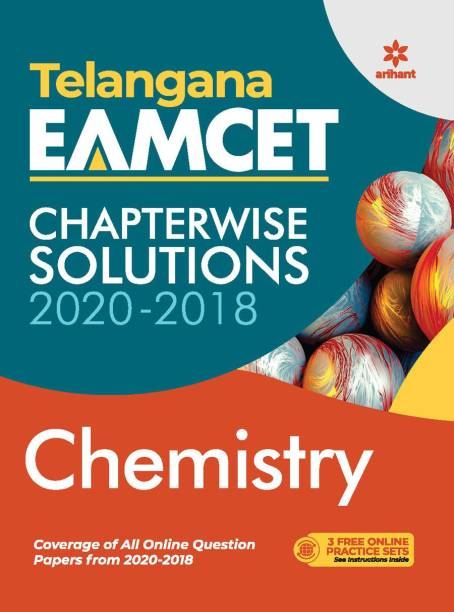 Telangana Eamcet Chapterwise Solutions 2020-2018 Chemistry for 2021 Exam