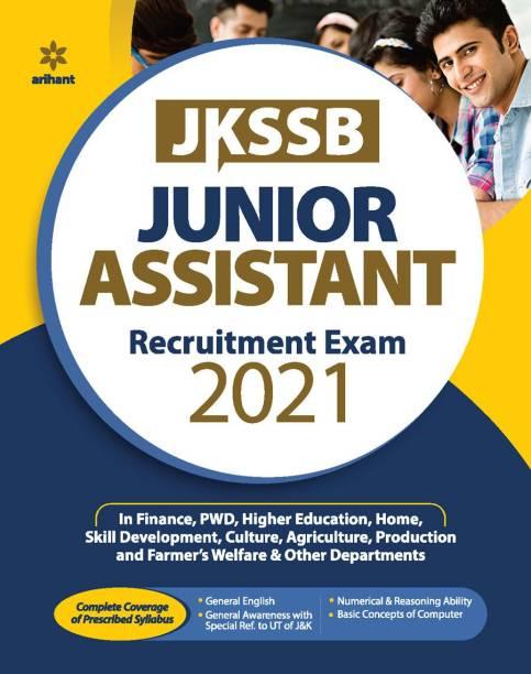 Jkssb Junior Assistant Exam Guide 2021