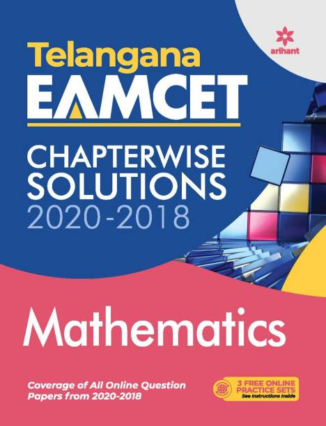 Telangana Eamcet Chapterwise Solutions 2020-2018 Mathematics for 2021 Exam