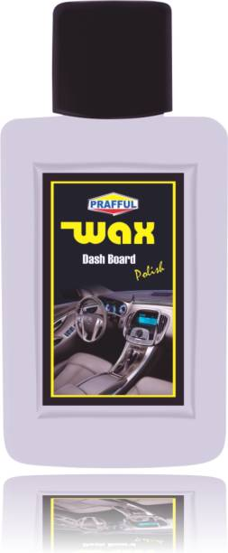 Prafful Liquid Car Polish for Leather, Windscreen, Dashboard, Metal Parts, Chrome Accent, Exterior, Headlight