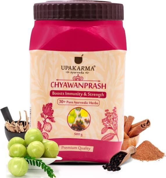 UPAKARMA Ayurveda Chyawanprash with 30 Plus Ayurvedic Herbs to Boost Immunity and Strength