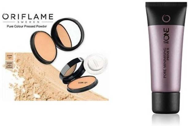 Oriflame Sweden pore miinimisig primer and compact combo