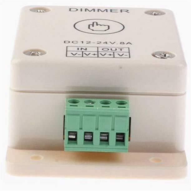 PROTIUM 12V 24V LED Dimmer Touch Switch 8A Adjustable Brightness Controller for LED Strip Light Bulb Lamp_PT13 8 A Step Dimmer