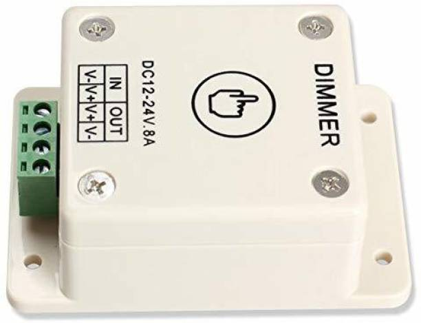 PROTIUM 12V 24V LED Dimmer Touch Switch 8A Adjustable Brightness Controller for LED Strip Light Bulb Lamp_PT12 8 A Step Dimmer