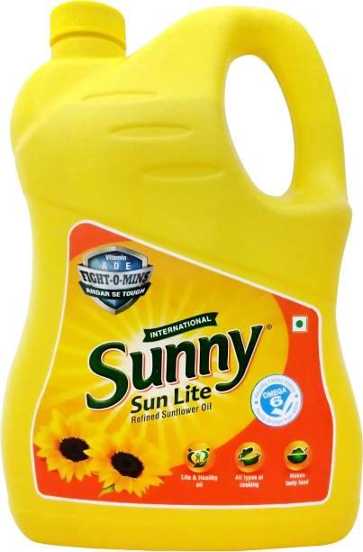 Sunny Sunflower Oil Can
