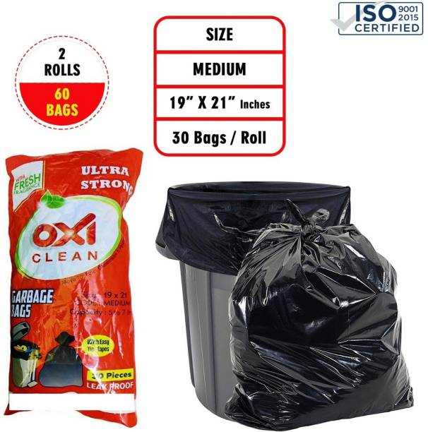 Oxi Clean cleanblack02 Medium 2 L Garbage Bag