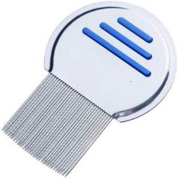 Frackson Lice. Comb Free Terminator Effective Removing Nits for Kids Treatment | NOT Pull Out Hair | Stainless Steel Double Grooved Teeth | Best for Long/Short/Thick/Fine/Dry & Wet Hair Louse-1