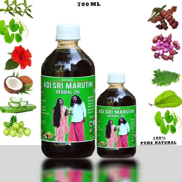 adivasi sri maruthi For Hair Regrowth & Hair Falls Control, ( Pure Natural Products ) Hair Oil