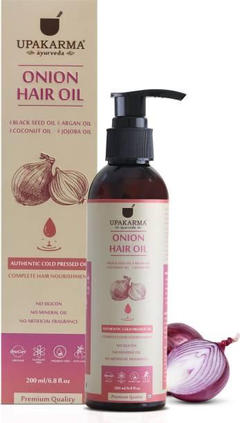 UPAKARMA Onion Black Seed  Hair Oil