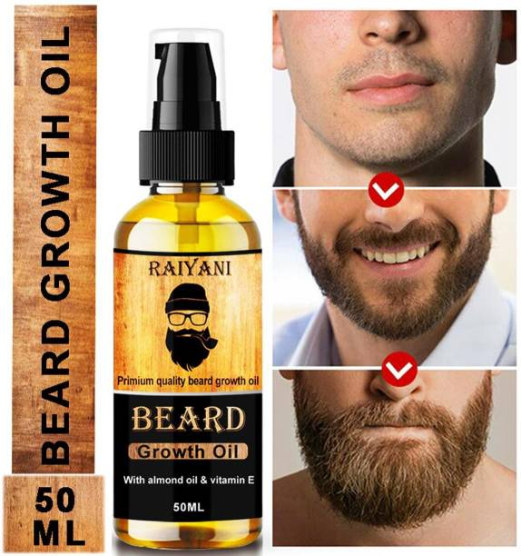 Raiyani Advanced Beard Growth Oil For Men (SLS & Parabean Free)  Hair Oil