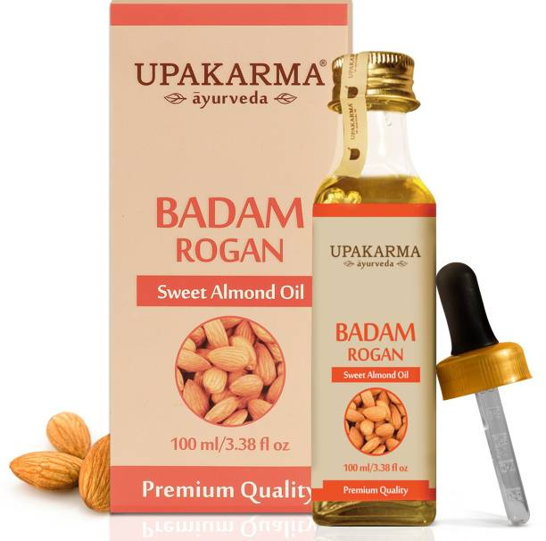 UPAKARMA Badam Rogan Sweet Almond  Hair Oil