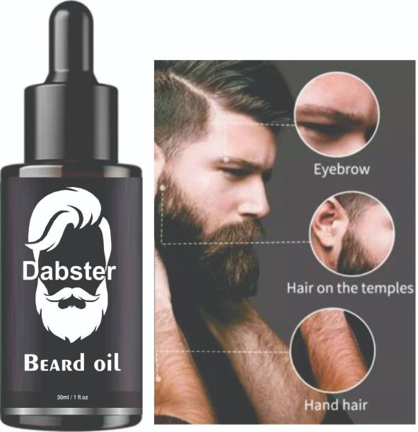 Dabster Beard Oil For Men For Thicker And Longer Beard For Specially Men Beard Grooming Hair Oil