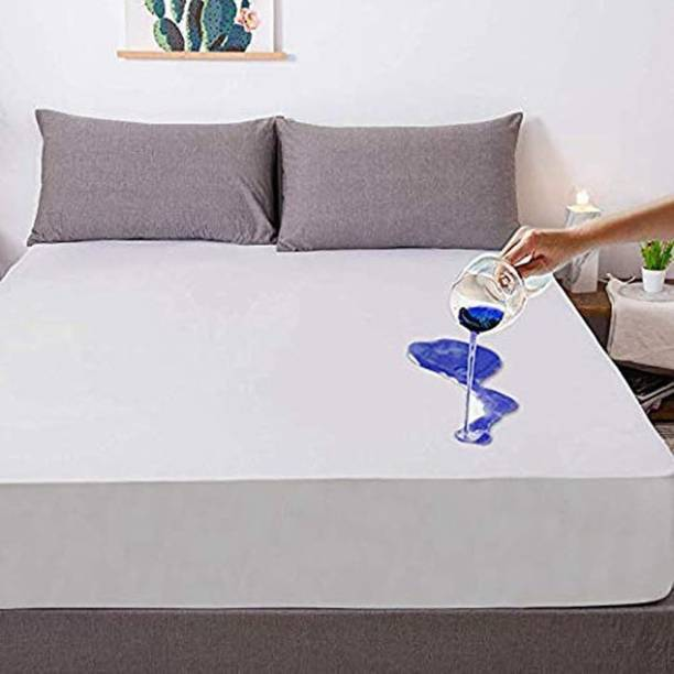 SIE STORE Fitted King Size Waterproof Mattress Cover