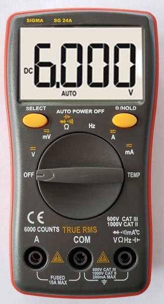 SIGMA 24A TRMS 6000 Counts (Autorange) Digital Multimeter