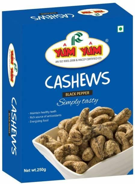 YUM YUM Roasted & Salted Black Pepper Cashew Nut Cashews