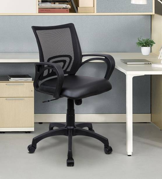 Flipkart Perfect Homes X9 Leatherette Office Arm Chair