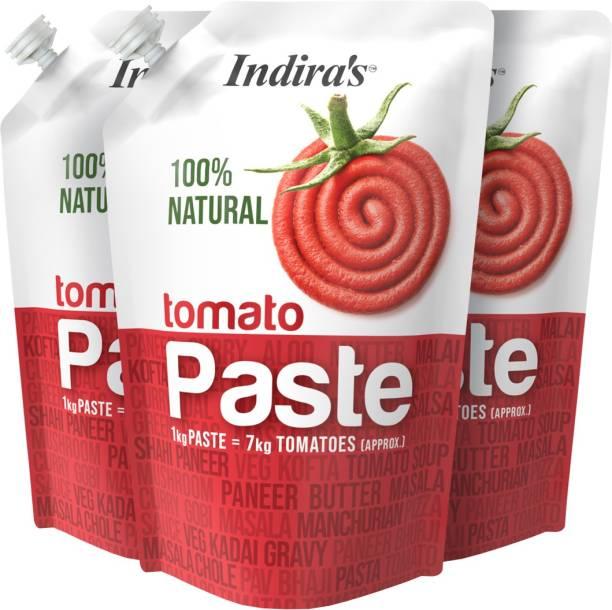 Indira Tomato Paste 450g Pack of 3