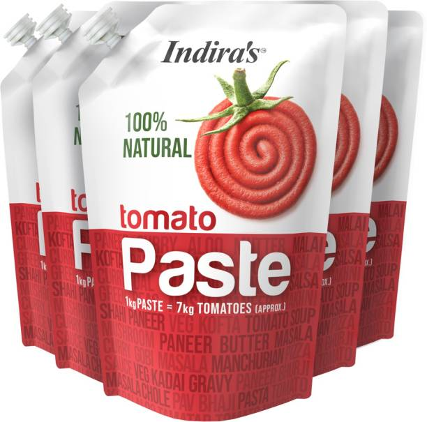 Indira Tomato Paste 450g Pack of 5