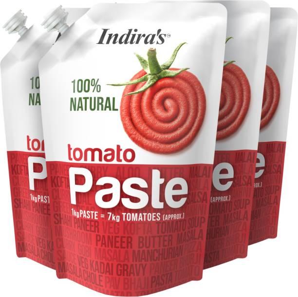 Indira Tomato Paste 450g Pack of 4