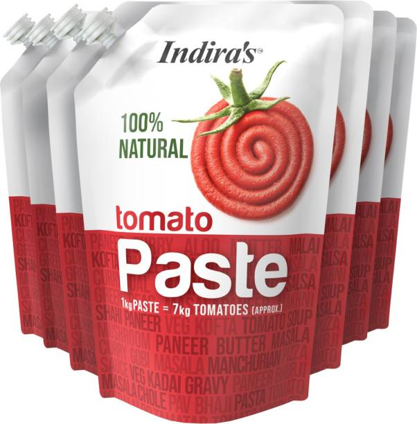 Indira Tomato Paste 450g Pack of 7