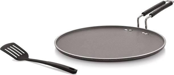 iVBOX Rio-Marble Induction Base 300mm Non-Stick Multi-Purpose Aluminium Tawa Tawa 30 cm diameter