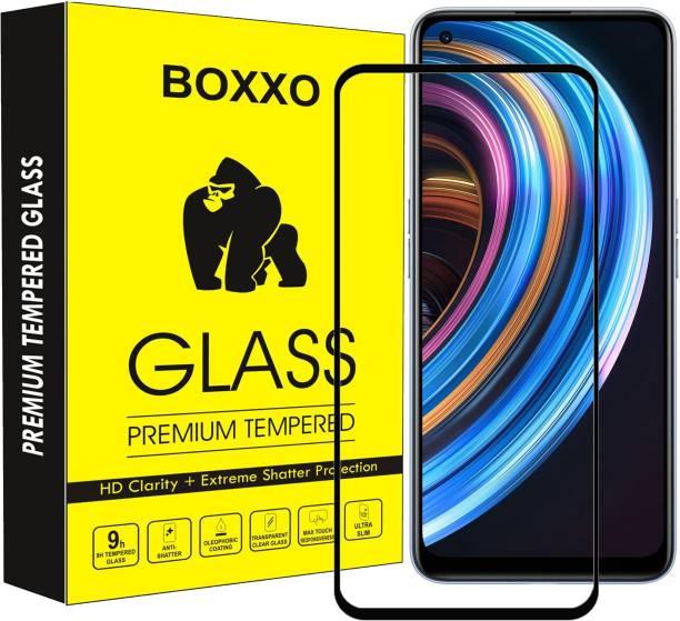 Boxxo Edge To Edge Tempered Glass for Realme X7