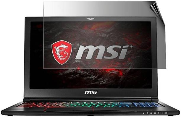 Accessories Solutions Edge To Edge Tempered Glass for MSI GP65 Leopard 10SFK-037IN Laptop (15.6 Inch)