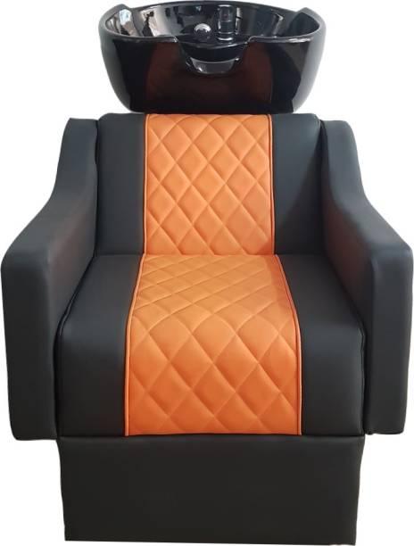Jyoti SP-15-Black-Orange Shampoo Chair