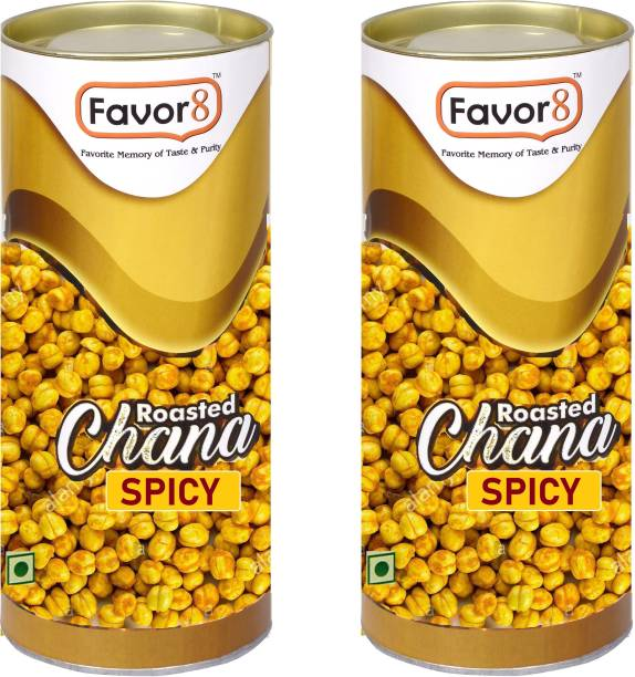 Favor8 Roasted Chana (Spicy)