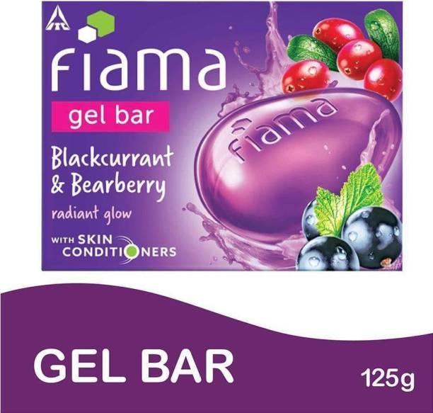 FIAMA Blackcurrant And Bearberry Gel Bar 125gm