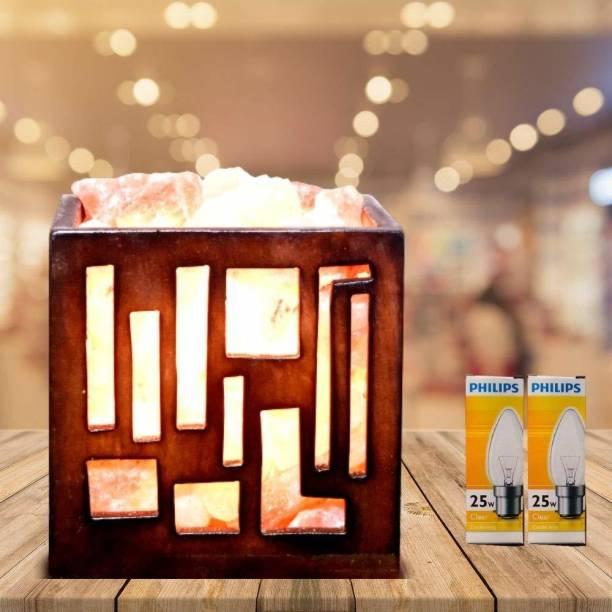 Namah Salt lamp for Positive Energy Pure Himalayan Pink Rock Salt Table Lamp