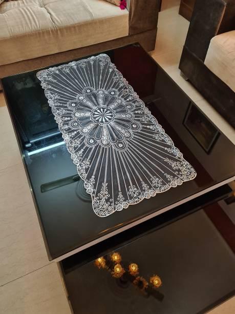 DELHI PVC CORP Black, Silver 80 cm Table Runner