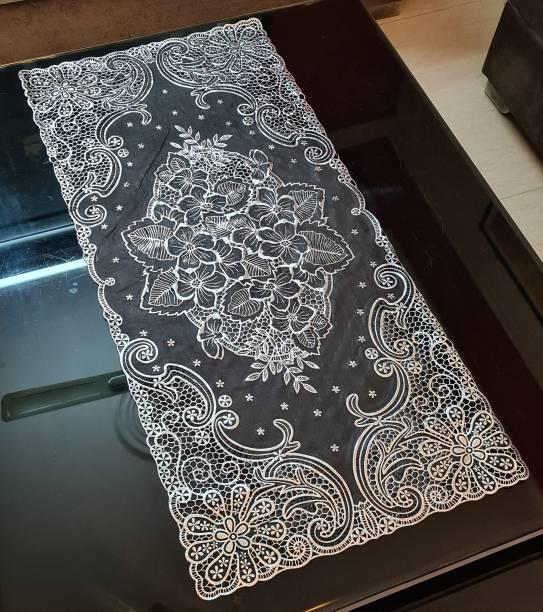 DELHI PVC CORP Black, White 80 cm Table Runner