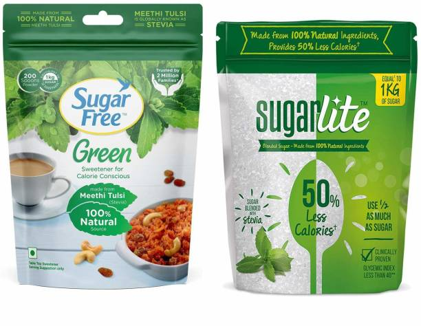 Sugar free Green 200g & Sugarlite 500g Sweetener