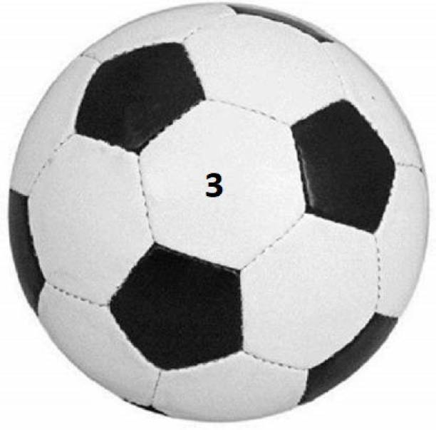 Kiraro Best Quality Black & White Football Football - Size: 3