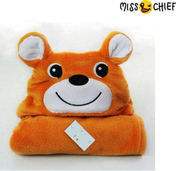 Miss & Chief Cartoon Crib Crib Baby Blanket