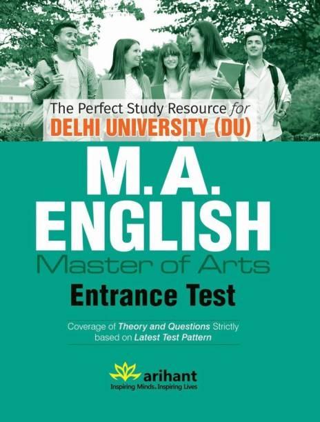 The Perfect Study Resource for - Delhi University (DU) M.A. ENGLISH