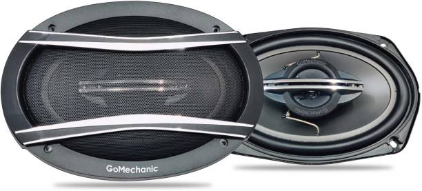 "GoMechanic Ares A3 ARES A3 6'' X 9"" 120W RMS 600W 3 Way Super BASS Series Coaxial Car Speaker, Set of 2 Coaxial Car Speaker"