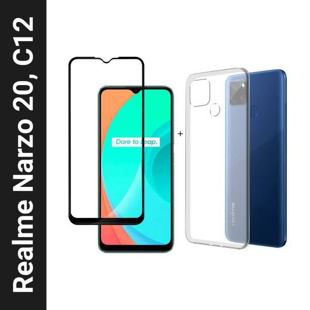 Flipkart SmartBuy Back Cover for Realme C12, Realme Narzo 20, Realme Narzo 30A