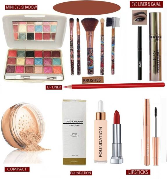 DPDM kit with basic makeup products