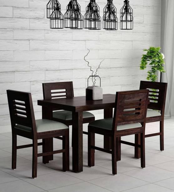 Taskwood Furniture Solid Wood 4 Seater Dining Set