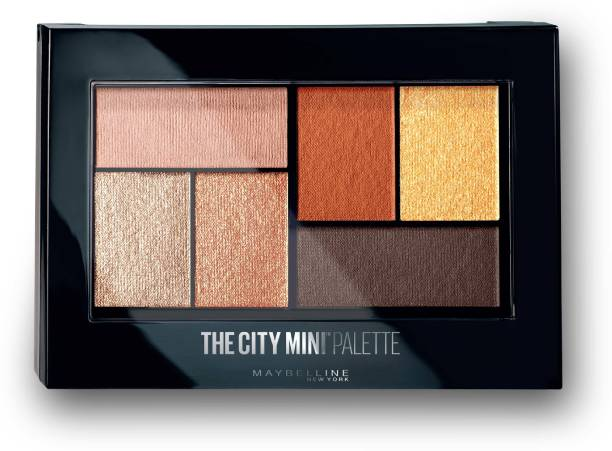 MAYBELLINE NEW YORK City Mini Palette - Brooklyn Orange 6.1 g