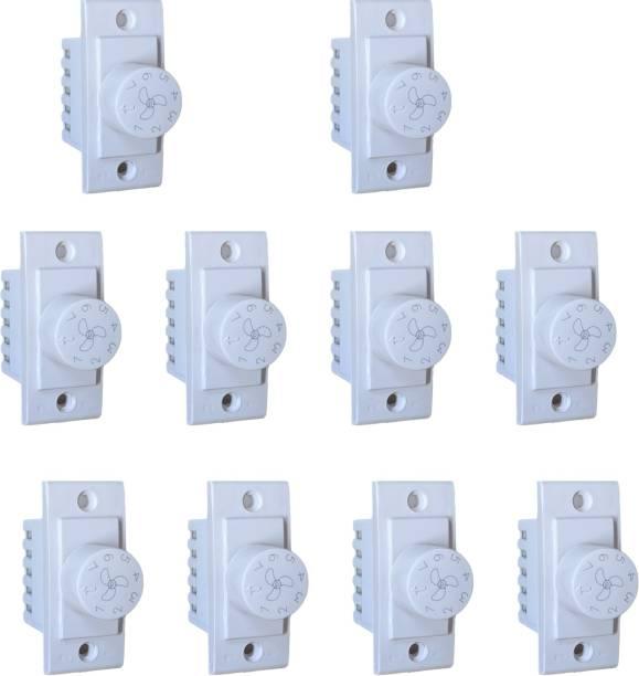 ashirwad SWITCH 7 STEP FAN REGULATOR Step-Type Button Regulator