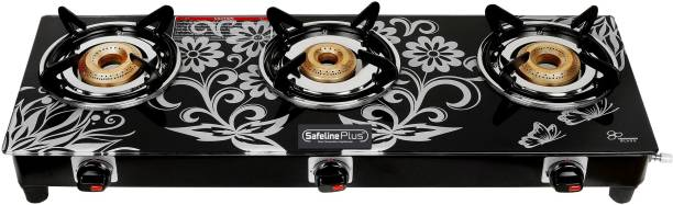 SAFELINE Compectra 3B Stainless Steel Manual Gas Stove